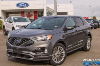 New 2021 Ford Edge Titanium for sale in Abbotsford, BC