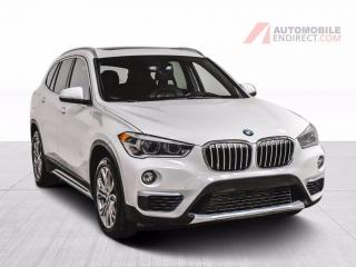 Used 2018 BMW X1 28I XDRIVE CUIR TOIT PANO CAMERA RECUL MAGS for sale in St-Hubert, QC