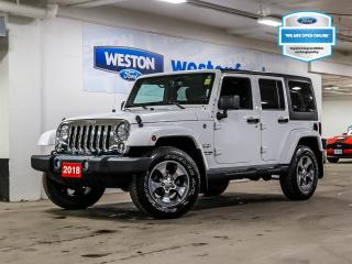 Used 2018 Jeep Wrangler Unlimited Unlimited Sahara+CERTIFIED for sale in Toronto, ON