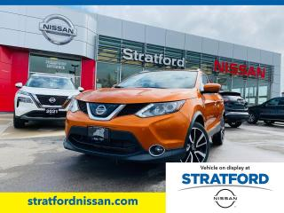 Used 2018 Nissan Qashqai SL AWD for sale in Stratford, ON