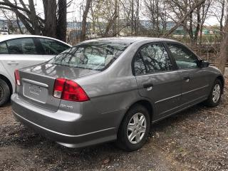 Used 2005 Honda Civic AS IS SALE ***** 5 Speed Manual * Manual Locks + Windows * Pioneer Aftermarket Radio * Cloth Seats * Climate Control * Child Seat Anchors * for sale in Cambridge, ON
