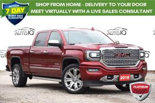 Used 2018 GMC Sierra 1500 Denali LEATHER | MOONROOF | NAVIGATION for sale in Kitchener, ON