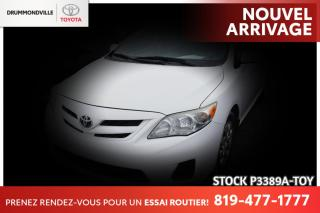 Used 2012 Toyota Corolla AUTOMATIQUE| CLIMATISATION| SIÈGES CHAUFFANTS for sale in Drummondville, QC