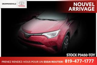 Used 2018 Toyota RAV4 MAGS| SIÈGES CHAUFFANTS| CAM RECUL for sale in Drummondville, QC