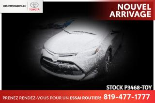 Used 2019 Toyota Corolla LE| SAFETY SENSE| SIÈGES CHAUFFANTS for sale in Drummondville, QC