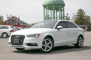 Used 2016 Audi A3 2.0T Komfort quattro for sale in Stittsville, ON