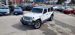 Used 2019 Jeep Wrangler Unlimited Sahara 4X4 for sale in Burlington, ON