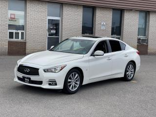 Used 2014 Infiniti Q50 TECH PKG AWD NAVIGATION/REAR CAMERA/BOSE SOUND for sale in North York, ON