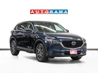 Used 2017 Mazda CX-5 GS AWD Nav Leather Sunroof Backup Cam for sale in Toronto, ON