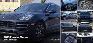 Used 2015 Porsche Macan Turbo - Approval->Bad Credit-No Problem for sale in Toronto, ON