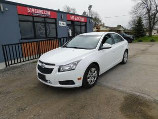 Used 2013 Chevrolet Cruze LT | Backup Camera | Bluetooth | Remote Start for sale in St. Thomas, ON