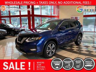 Used 2019 Nissan Rogue SV AWD - Local / One Owner / No Collision / No Dealer Fees for sale in Richmond, BC