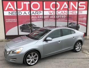 Used 2012 Volvo S60 T6 AWD-ALL CREDIT ACCEPTED for sale in Toronto, ON