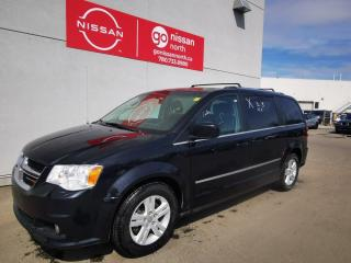 Used 2016 Dodge Grand Caravan Crew / Fog Lamps / Power Second Row Windows / Keyless Entry for sale in Edmonton, AB