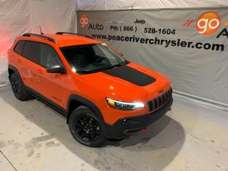 Used 2021 Jeep Cherokee Trailhawk for sale in Peace River, AB