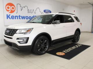 Used 2017 Ford Explorer XLT | 4WD | Appearance Pkg | Moonroof | Nav | One Owner Trade for sale in Edmonton, AB