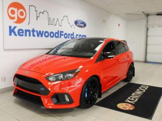 Used 2018 Ford Focus RS | One Owner | LOW Kms | No Accidents | Winter and Summer Tires | Adrenalin!! for sale in Edmonton, AB