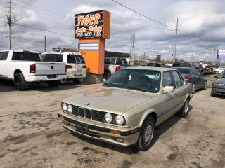 Used 1990 BMW 3 Series 325i**RUST FREE**E30** ONLY 90KMS*NO ACCIDENTS for sale in London, ON