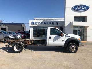 Used 2015 Ford F-550 XLT for sale in Treherne, MB