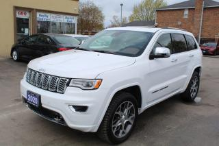 Used 2020 Jeep Grand Cherokee Overland for sale in Brampton, ON