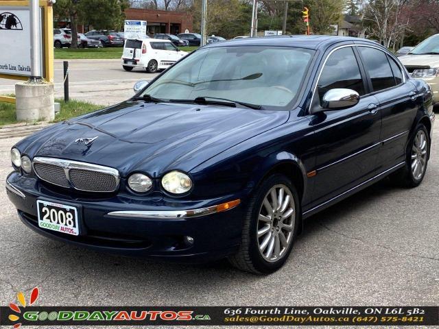 2008 Jaguar X-Type LOW KM|NO ACCIDENT|AWD|WARRANTY|CERTIFIED