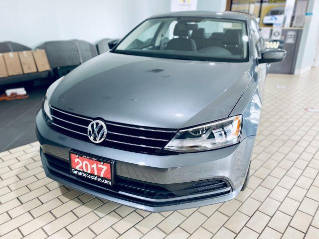 2017 Volkswagen Jetta Trendline+ NO ACCIDENT APPLE PLAY LOW KM $14999