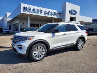 Used 2021 Ford Explorer LIMITED for sale in Brantford, ON