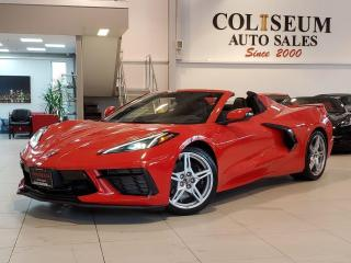Used 2021 Chevrolet Corvette STINGRAY CONVERTIBLE-Z51 PERFORMANCE for sale in Toronto, ON