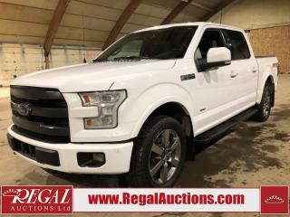 Used 2017 Ford F-150 LARIAT SUPERCREW 4WD 3.5L for sale in Calgary, AB