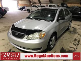 Used 2005 Toyota Corolla 4D Sedan for sale in Calgary, AB