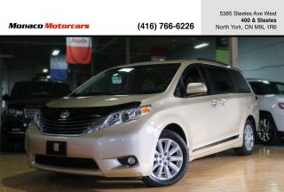 Used 2014 Toyota Sienna XLE - 7PASS|LEATHER|SUNROOF|BACKUPCAMERA|POWERDOOR for sale in North York, ON