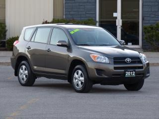 Used 2012 Toyota RAV4 ONE-OWNER,LOW KMS,CERTIFIED,EXTRA TIRES,POWER OPTI for sale in Mississauga, ON