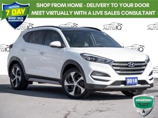 Used 2018 Hyundai Tucson Ultimate 1.6T Leather   |   Sunroof   |   Navigation   |   All Wheel Drive for sale in St Catharines, ON