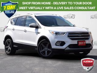 Used 2017 Ford Escape Titanium TITANIUM | FWD | A/C | CANADIAN TOURING PACKAGE for sale in Waterloo, ON