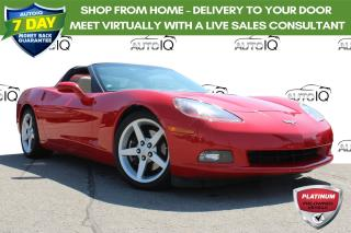 Used 2006 Chevrolet Corvette ONE OWNER NO ACCIDENTS CERTIFIED CANDIAN CAR! for sale in Hamilton, ON