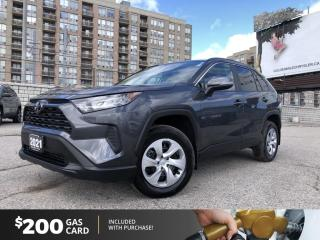 Used 2021 Toyota RAV4 LE No Accidents!! AWD, Active Cruise Control, AM/FM radio, Exterior Parking Camera Rear, Heated Front B for sale in North York, ON