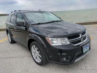 Used 2016 Dodge Journey R/T AWD Heated Leather Bluetooth 3rd Row for sale in Belle River, ON