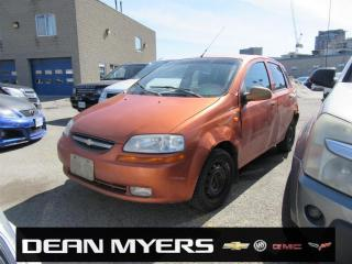 Used 2004 Chevrolet Aveo for sale in North York, ON