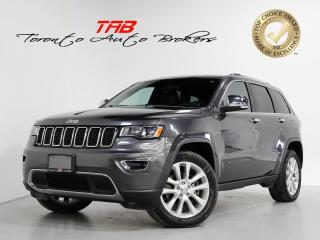 Used 2017 Jeep Grand Cherokee V8 I LIMITED I NAVI I SUNROOF I CLEAN CARFAX for sale in Vaughan, ON