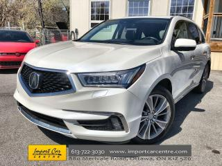 Used 2017 Acura MDX Elite Package LEATHER  ROOF  REAR DVD  ADAPTIVE CR for sale in Ottawa, ON