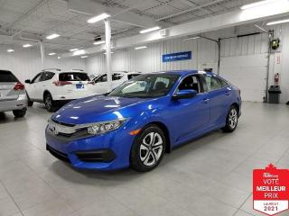 Used 2016 Honda Civic LX - BAS KILOMETRAGE + JAMAIS ACCIDENTE !!! for sale in Saint-Eustache, QC