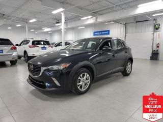 Used 2018 Mazda CX-3 GS - CAMERA + S. CHAUFFANTS + FINANCEMENT FACILE ! for sale in Saint-Eustache, QC