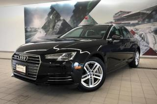 Used 2017 Audi A4 2.0T Komfort + Sunroof | Cruise | Keyless for sale in Whitby, ON