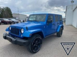 Used 2015 Jeep Wrangler Unlimited Sahara for sale in Arnprior, ON