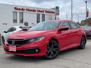 Used 2020 Honda Civic Sedan Sport - Lane Watch - Sunroof -  Low KMS!! for sale in Mississauga, ON