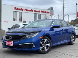 Used 2020 Honda Civic Sedan LX  - Bluetooth - Rear Camera - Heated Seats for sale in Mississauga, ON
