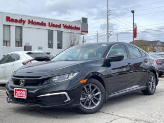 Used 2020 Honda Civic Sedan EX  - Sunroof - Lane watch - Rear Camera for sale in Mississauga, ON