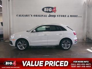 Used 2017 Audi Q3 2.0T Technik for sale in Calgary, AB
