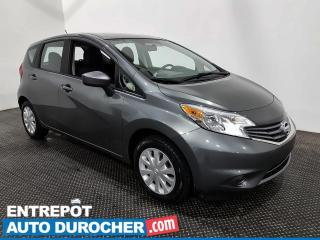 Used 2016 Nissan Versa Note S - Économique - Automatique - Climatiseur for sale in Laval, QC