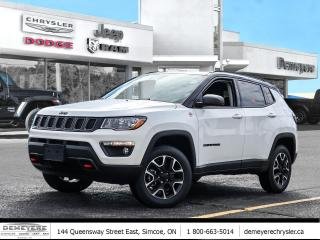 New 2021 Jeep Compass TRAILHAWK | SAFETY AND CONVENIENCE GRP for sale in Simcoe, ON